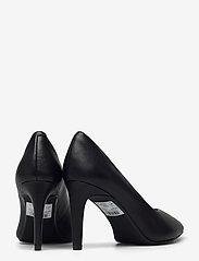 Clarks - Genoa85 Court - klassiska pumps - black leather - 4