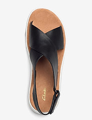 Clarks - Jemsa Cross - platta sandaler - black leather - 3