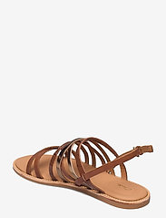 Clarks - Karsea Ankle - platta sandaler - tan leather - 2