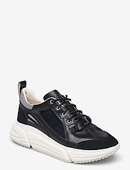 Clarks - TriComet Lace - chunky sneakers - black combi - 0