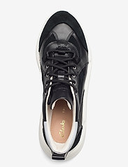 Clarks - TriComet Lace - chunky sneakers - black combi - 3