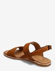 Clarks - Karsea Strap - platta sandaler - tan leather - 2