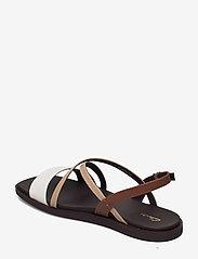 Clarks - Ofra Strap - platta sandaler - taupe combi lea - 2
