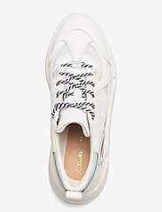 Clarks - TriComet Lace - chunky sneakers - white combi - 3