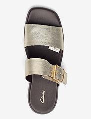 Clarks - Ofra Slide - platta sandaler - champagne - 3