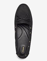 Clarks - C Mocc Boat2 - loafers - black nubuck - 3