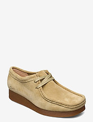 Clarks - Wallabee 2 - loafers - maple suede - 0