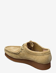 Clarks - Wallabee 2 - loafers - maple suede - 2