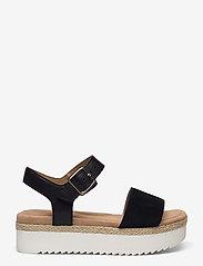 Clarks - Lana Shore - platta sandaler - black - 1