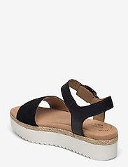 Clarks - Lana Shore - platta sandaler - black - 2