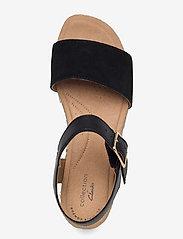 Clarks - Lana Shore - platta sandaler - black - 3