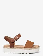Clarks - Lana Shore - platta sandaler - dark tan - 1