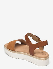 Clarks - Lana Shore - platta sandaler - dark tan - 2