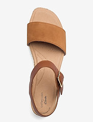 Clarks - Lana Shore - platta sandaler - dark tan - 3