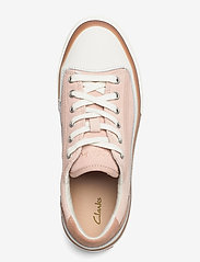 Clarks - Aceley Lace - låga sneakers - light pink - 3