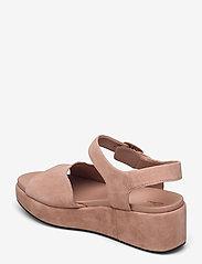 Clarks - Kimmei Way - platta sandaler - dark blush sde - 2