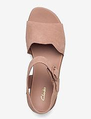 Clarks - Kimmei Way - platta sandaler - dark blush sde - 3