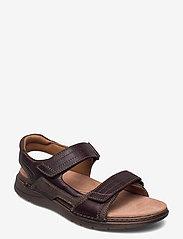Clarks - Nature Trek - sandales - mahogany combi - 0