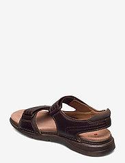 Clarks - Nature Trek - sandales - mahogany combi - 2