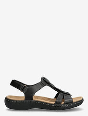 Clarks - Laurieann Kay - platta sandaler - black leather - 1