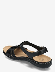 Clarks - Laurieann Kay - platta sandaler - black leather - 2