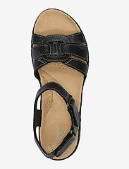 Clarks - Laurieann Sela - platta sandaler - black leather - 3