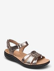 Clarks - Laurieann Sela - platta sandaler - metallic - 0