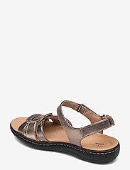 Clarks - Laurieann Sela - platta sandaler - metallic - 2