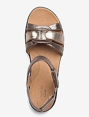 Clarks - Laurieann Sela - platta sandaler - metallic - 3