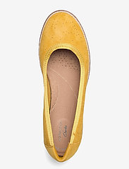 Clarks - Serena Kellyn - ballerinas - yellow suede - 3