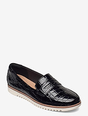 Clarks - Serena Terri - loafers - black - 0