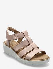 Clarks - Jillian Quartz - platta sandaler - dusty rose - 0