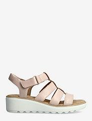 Clarks - Jillian Quartz - platta sandaler - dusty rose - 1