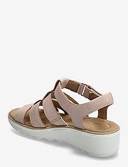 Clarks - Jillian Quartz - platta sandaler - dusty rose - 2