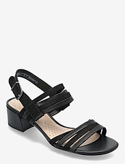 Clarks - Caroleigh Bess - högklackade sandaler - black combi - 0