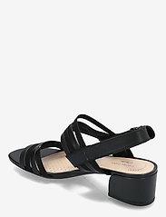Clarks - Caroleigh Bess - högklackade sandaler - black combi - 2