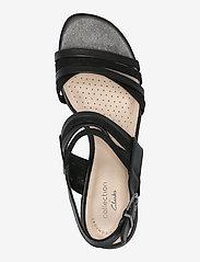 Clarks - Caroleigh Bess - högklackade sandaler - black combi - 3