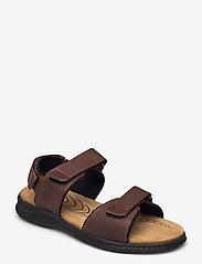 Clarks - Hapsford Creek - sandales - brown tumb - 0