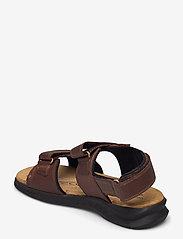 Clarks - Hapsford Creek - sandales - brown tumb - 2