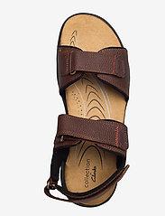 Clarks - Hapsford Creek - sandales - brown tumb - 3