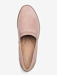 Clarks - Sharon Dolly - slip-on sneakers - dusty pink - 3