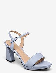 Clarks - Vista Strap - högklackade sandaler - pale blue lea - 0