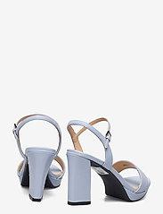 Clarks - Vista Strap - högklackade sandaler - pale blue lea - 4