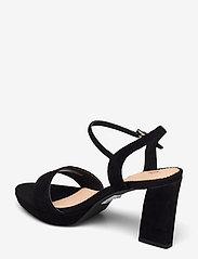 Clarks - Vista Strap - högklackade sandaler - black sde - 2