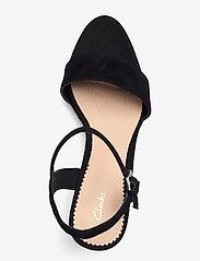 Clarks - Vista Strap - högklackade sandaler - black sde - 3