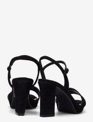 Clarks - Vista Strap - högklackade sandaler - black sde - 4