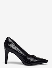 Clarks - Genoa85 Court - klassiska pumps - black croc - 1