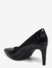 Clarks - Genoa85 Court - klassiska pumps - black croc - 2