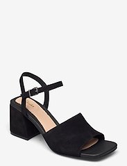 Clarks - Sheer65 Block - högklackade sandaler - black sde - 0