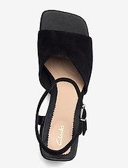 Clarks - Sheer65 Block - högklackade sandaler - black sde - 3